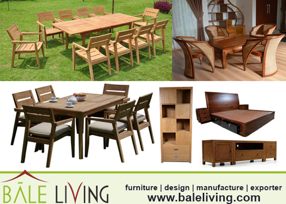 teak garden and outdoor furniture from jepara
